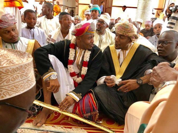 Ali Kiba wedding photos