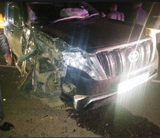 Education CS Amina Mohamed and Governor Oparanya's vehicles involved in accident