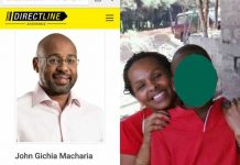 John Macharia family
