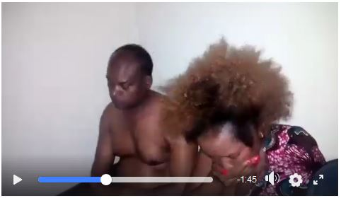 Kirinyaga Deputy Governor Peter Ndambiri caught sleeping with another man's wife Video