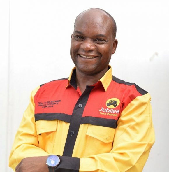 Kirinyaga Deputy Governor Peter Ndambiri caught sleeping with another man's wife