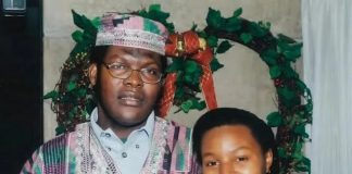 Miguna Miguna Beautiful Wife