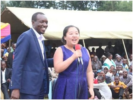 Simba Arati and his Chinese family photos