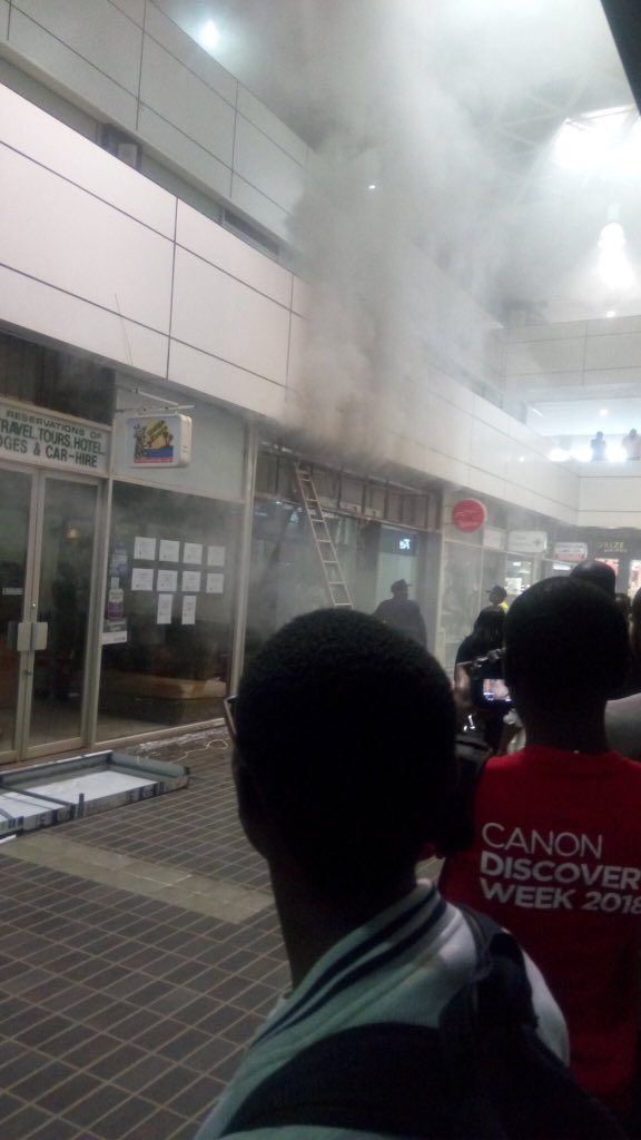 Sarit Centre shopping mall fire