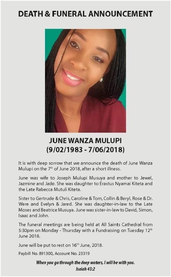 June Wanza