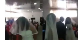 Side chick shows up at lover's wedding dressed in a gown