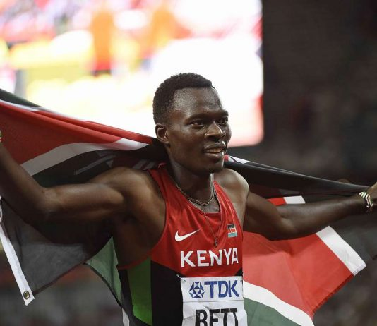 400M World Champion, Nicholas Bett Dies In Car Crash