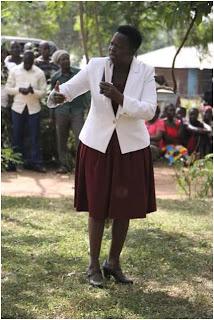 Governor obado Wife Hellen