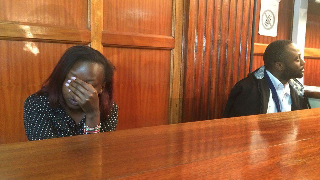 TV anchor Jacque Maribe Badly snubs Jowie as couple reunites in court