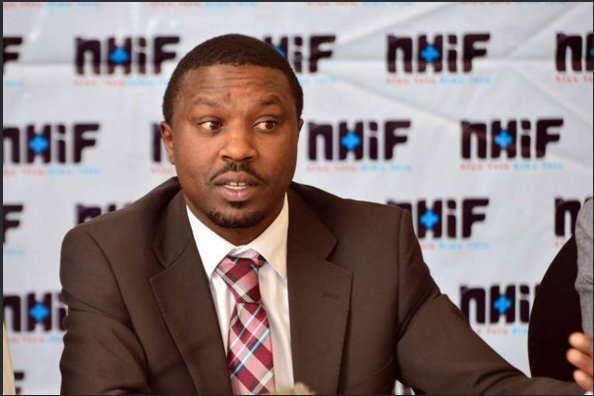 NHIF MD Geoffrey Mwangi and his Finance director arrested by DCI