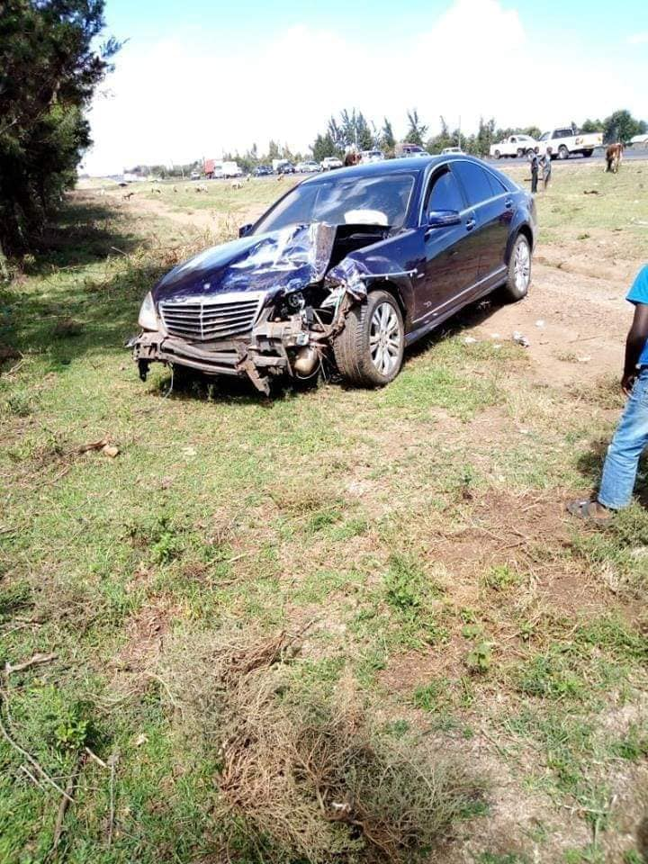 Chief Justice David Maraga accident - Chief Justice David Maraga and his wife admitted, after serious Accident – Photos