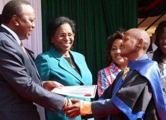 Githeri Man Awarded For The Second Time By President Uhuru Kenyatta