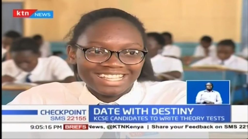 Irene Juliet Otieno from Pangani Girls Nairobi is this year's top KCSE candidate scoring Grade A with 87.664 points.  1024x576 - First 20 students in this year's Kenya Certificate of Secondary Education (KCSE) 2018 examination are;