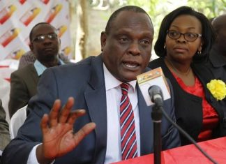 Jubilee Party Vice chairman, David Murathe