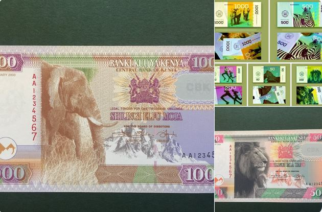 Image result for images of new kenya currency