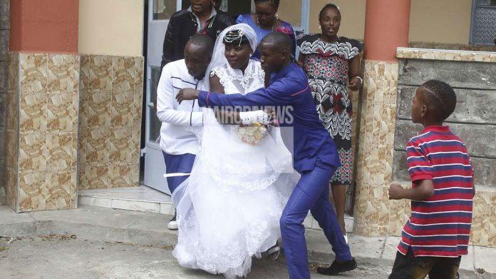 Wololo! Drama as mpango wakandos storms wedding to claim 'husband'