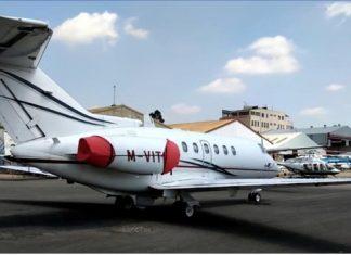 mysterious mercenaries land in a private jet at Wilson, Nairobi, Kenya
