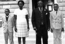 Photo of Young Uhuru Kenyatta in 1973