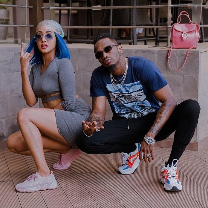 Diamond Platinumz and Tanasha Donna Oketch Wedding