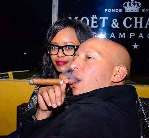 SOPHIA WANUNA and her EX Sasha Mutai