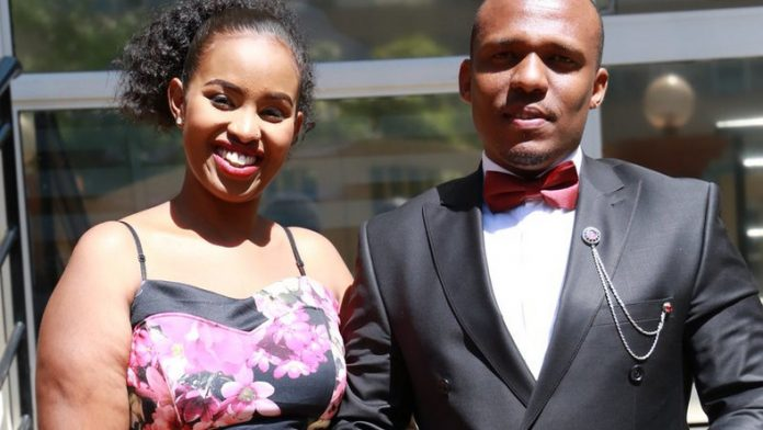 Ben Kitili and wife Amina Mude pregnant