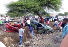 Namanga racing Accident Photos