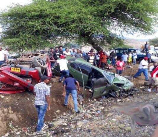 Namanga racing Accident Photos