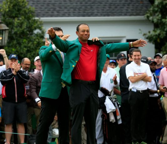 The green jacket. It fits.
