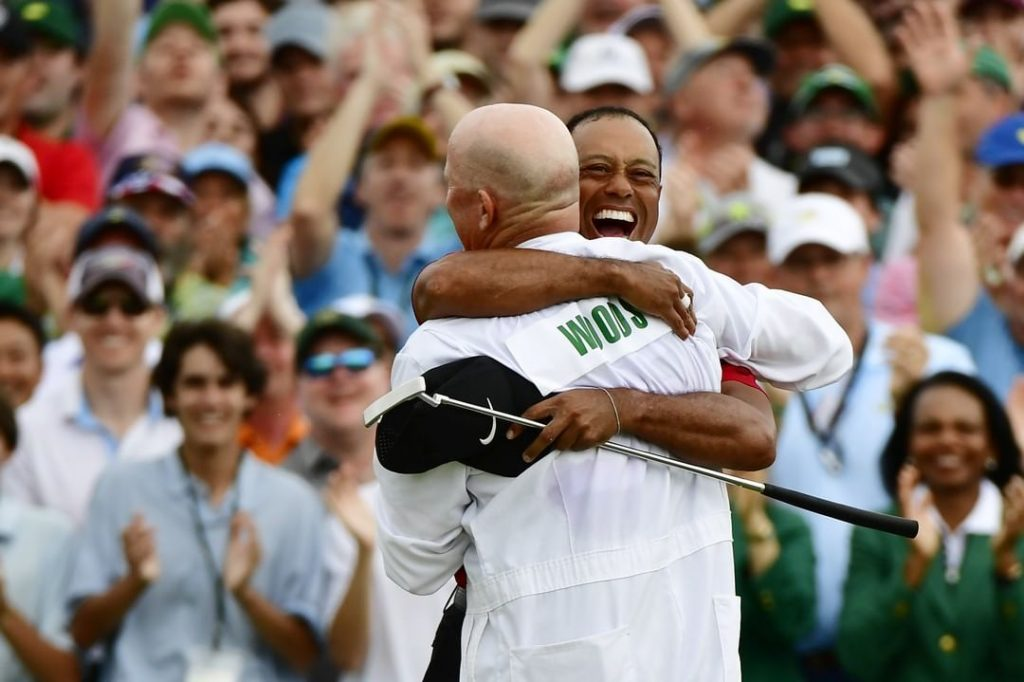 Winning never gets old. Tiger Woods has now won the Masters FIVE times pics