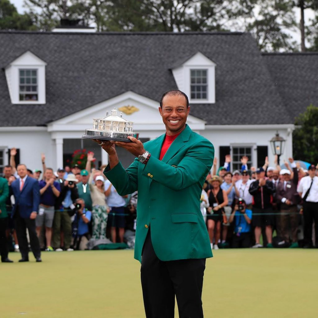 Your 2019 Masters Champion, Tiger Woods