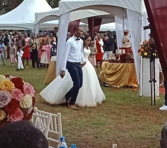 Exclusive Photos of Citizen TV Journalist Sam Gituku - CITIZEN TV presenter SAM GITUKU weds Workmate IVY, in a colorful ceremony (PHOTOs)