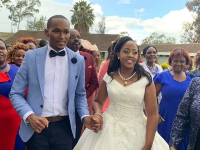 CITIZEN TV presenter SAM GITUKU weds Workmate IVY, in a colorful ceremony (PHOTOs)