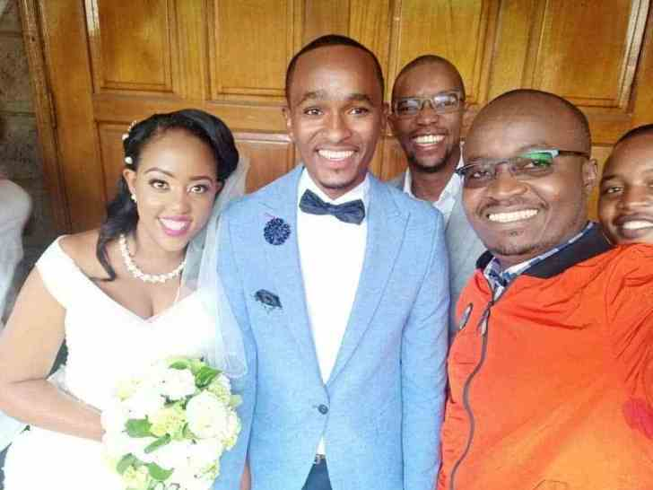 gituku2 - CITIZEN TV presenter SAM GITUKU weds Workmate IVY, in a colorful ceremony (PHOTOs)
