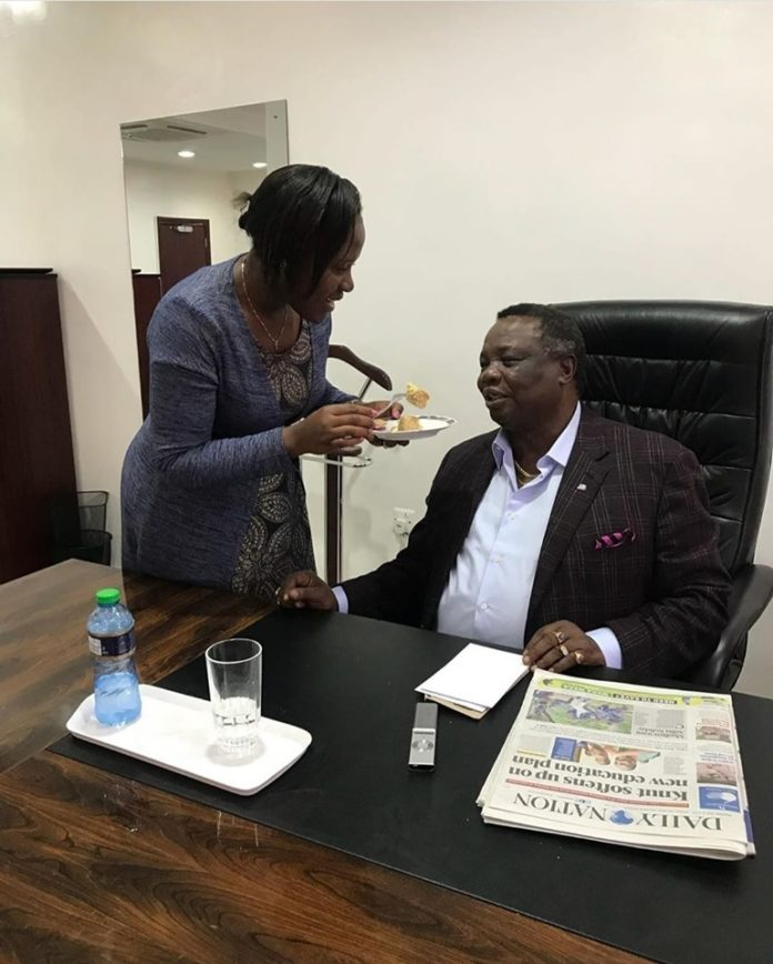 Francis Atwoli wife Mary Kilobi