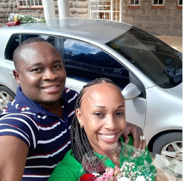 Kanesh 1 - LILLIAN MULI's ex-husband continues flaunting his new lover, he is eating good things, better than LILLIAN MULI (PHOTOs)