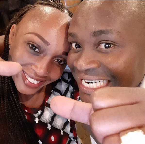 Kanesh 2 1 - LILLIAN MULI's ex-husband continues flaunting his new lover, he is eating good things, better than LILLIAN MULI (PHOTOs)