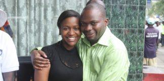 Esther Arunga and Killer husband Quincy Timberlak