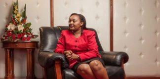 Anne Waiguru's mother photos