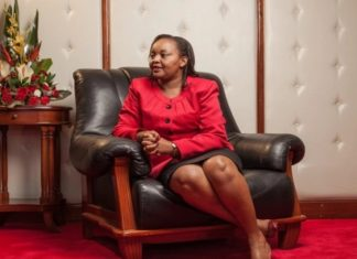 Anne Waiguru's mother photos