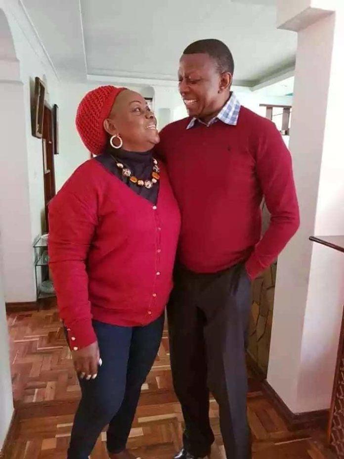 Suba North MP, Millie Odhiambo and her husband