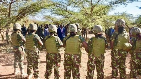 elite all female Special Weapons and Tactics Team SWAT 1 - Beauties with big guns! MATIANG'I makes history in Africa as he unveils the first ever all female elite commando squad-See what these sexy cops will be doing?