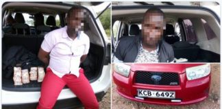 DCI Kenya Detectives from SCPU have arrested 2 Administration Police Officers and Recovered 4