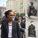 The NewOnes, will free Us, by Kenyan-American artist Wangechi Mutu, inaugurates an annual commission to animate The Met's historic facade.