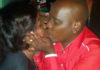 Dennis Itumbi Kissing Jackie Maribe