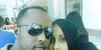Hussein Mohammed and his hot wife