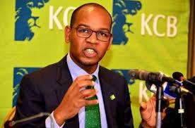 Kenya Commercial Bank CEO Joshua Oigara