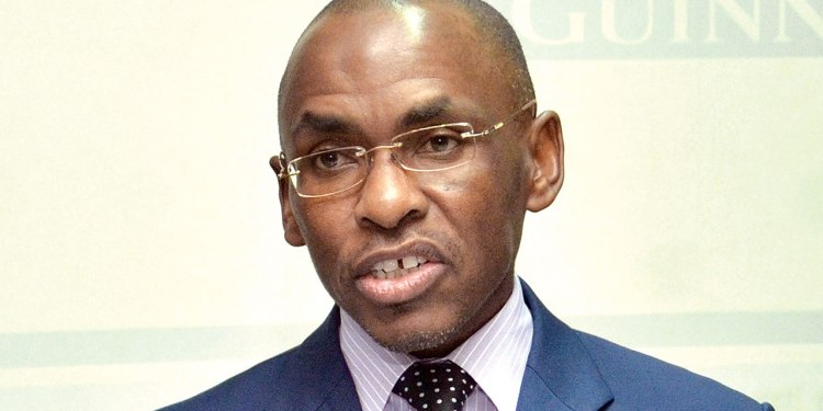 Peter Ndegwa, former managing director of Guiness Nigeria Breweries - new head of Diageo's operations in Europe