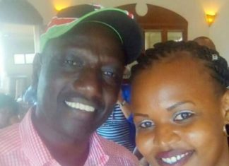 Prisca Chemutai Bett with DP Ruto