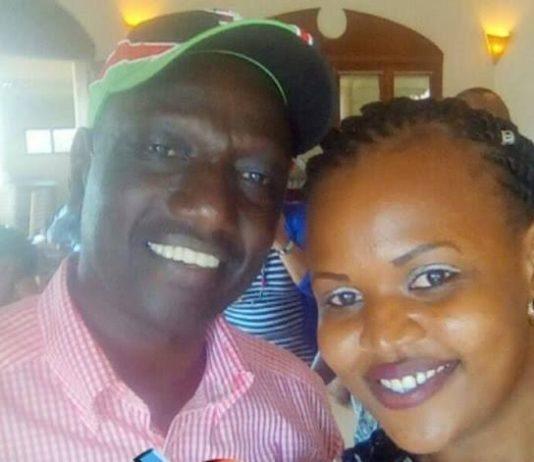 Prisca Chemutai Bett with DP Ruto