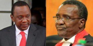 Uhuru and CJ Maraga